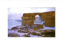 Malta. Gozo. Azure Window. Storm. Dwejra. The Maltese Islands. Fenêtre D'azur. Tempête. Malte. - Malte