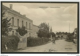 Cartelègue-Avenue De La Poste - Autres Communes