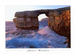 Malta. Gozo. Azure Window. Fenêtre D'azur. Malte. The Azure Window Is One Of The Most Spectacular Sights In Dwejra Area. - Malte
