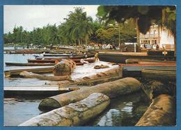 GABON PORT GENTIL LE DEBARCADERE DU MARCHE 1983 UNUSED - Gabon