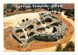 Malta. Gozo. Ggantija Temples. Malte. - Malte