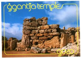 Malta. Gozo. Prehistoric Temples. Ggantija. Circa 2800 BC. Temples Préhistoriques. Environ 2800 Avant JC. Malte. - Malta