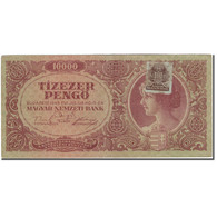 Billet, Hongrie, 10,000 Pengö, 1945-07-15, KM:119b, TTB - Hongrie