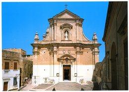 Malta. Gozo. The Cathedral Designed By Lorenzo Gafa. Built Between 1697 And 1711. La Cathédrale. Malte. - Malte