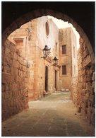 Malta. Gozo. A Typical Street Within The Citadel Victoria. Rue Typique Dans La Citadelle Victoria. Malte. - Malte