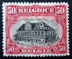1915 Belgique Yt 142,143, 144, 145, 146 . Neufs Sur Charnières 1 Timbre Légère Trace En Bas  5 Scans - 1915-1920 Albert I