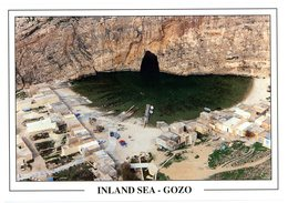 Malta. Gozo.Inland Sea. Dwejra. Mer Intérieure. Malte. - Malte