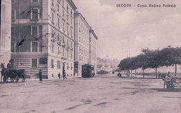 Italie, Genova, Corso Andra Podestà, Tramway (8148) - Genova (Genoa)