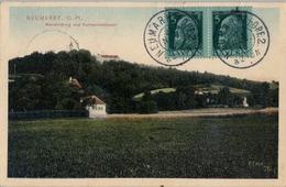 1913 , NEUMARKT - FARO ( PORTUGAL ) , TARJETA POSTAL CIRCULADA , LLEGADA - Bavaria