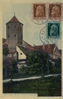 1914 , NEUMARKT - FARO ( PORTUGAL ) , TARJETA POSTAL CIRCULADA , LLEGADA - Bavaria