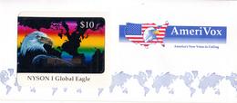 USA - NYSON I Global Eagle, Amerivox Prepaid Card $10, Mint - Stati Uniti