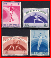 REPUBLICA DE SAN MARINO DEPORTES AÑO 1954-55 - San Marino