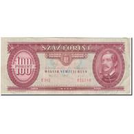 Billet, Hongrie, 100 Forint, 1992-01-15, KM:174a, TB - Hongrie