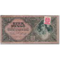 Billet, Hongrie, 1000 Pengö, 1945-07-15, KM:118b, TTB - Hongrie