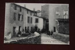 Saint Laurent De Cerdans   ( Pyrénées - Orientales ) Placette Magi Groupe D'Espadrilles - France