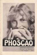 Vieux Papiers - PUBLICITE Phoscao  Georges Dardanne - 4 Volet Recto Verso - TTB Années 30/40 - Publicidad