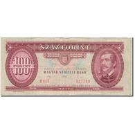 Billet, Hongrie, 100 Forint, 1992-01-15, KM:174a, TB+ - Hongrie