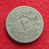 Egypt 2 Milliemes 1342  1924  Egipto Egypte Egito Egitto Ägypten L6-6 - Egypte