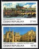 2016 Czech Rep. - Prague Unesco Heritage - Joint Issue With UN Posts - 2v -MNH** MI 898/899 - Gemeinschaftsausgaben