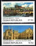 2016 Czech Rep. - Prague Unesco Heritage - Joint Issue With UN Posts - 2v -MNH** MI 898/899 - Tschechische Republik