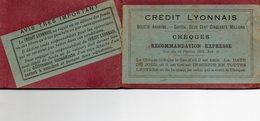 ¤ Ancien Carnet De Chèques Du Crédit Lyonnais ( Vide) - Cheques & Traveler's Cheques