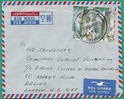 ! - Malaysia (Malaisie) - Lettre Avec YT 272 En Paire - Envoi Vers London - Malaysia (1964-...)