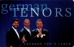 TARJETA TELEFONICA DE ALEMANIA. German Tenors  - Tenores Alemanes. P 16 09.00 (376) - Música