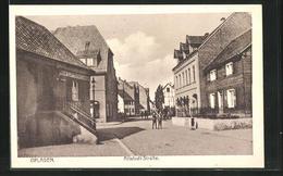 AK Opladen, Blick In Die Altstadt-Strasse - Allemagne