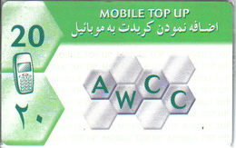 AFGHANISTAN / AWCC MOBIL REFIL - Mint In Blister - Afghanistan