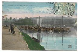 GIVET - Le Port Et Les Bateaux - Péniche - Givet