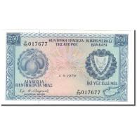 Billet, Chypre, 250 Mils, 1979-09-01, KM:41c, NEUF - Chypre