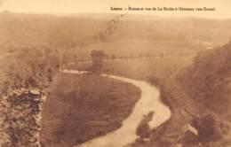 Logne - Ruines Et Vue De La Roche à Hierneux Vers Bomal - Ferrieres