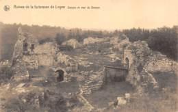 Ruines De La Forteresse De LOGNE - Donjon Et Cour Du Donjon - Ferrieres