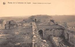 Ruines De La Forteresse De LOGNE - Donjon Et Intérieur De La Tour De Guet - Ferrières