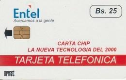 BOLIVIA / BOL - TT - 02 Very Rare Test Card, Mint - Bolivia