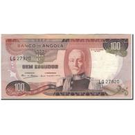 Billet, Angola, 100 Escudos, 1972-11-24, KM:101, TTB+ - Angola