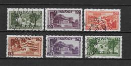 LOTE 1804  ///  (C045) VIETNAM YVERT Nº: Empire 1951 N° 1/2/4/6/8/10 - Vietnam