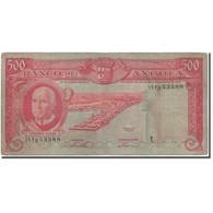 Billet, Angola, 500 Escudos, 1962-06-10, KM:95, TB - Angola