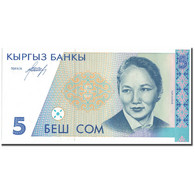 Billet, KYRGYZSTAN, 5 Som, KM:8, NEUF - Kirghizistan
