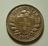 Switzerland 2 Rappen 1914 - Switzerland