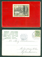 Postcard. 1905. 5 Ore RPO/Railway Cancel. Varde-Nørre Nebel. Adr:Copenhagen. See Condition - 1905-12 (Frederik VIII)