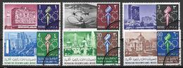 GIORDANIA   1967    PREPARAZIONE  PER I GIOCHI OLIMPICI DEL MESSICO YVERT. 565 USATA VF - Giordania