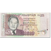 Billet, Mauritius, 25 Rupees, 2009, Undated (2009), KM:49c, TTB - Maurice