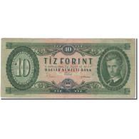 Billet, Hongrie, 10 Forint, 1969-06-30, KM:168d, B+ - Hongrie