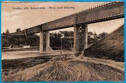 CPA AK Biélorussie BELARUS - GRODNO - Alte Bahnbrücke  Stary Most Kolejowy - Belarus