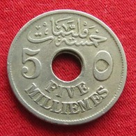 Egypt 5 Milliemes 1335 1917 H Egipto Egypte Egito Egitto Ägypten 2L2-1 - Egypte