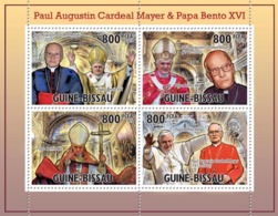 Guinea Bissau 2010 Tribute Paul Mayer With Benedict XVI - Guinea-Bissau