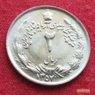 Iran 2 Rials 1978 / SH 1357 KM# 1174 Lt 235 Irão Persia Persien - Iran