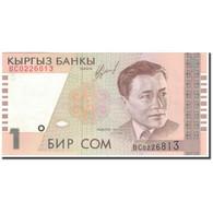 Billet, KYRGYZSTAN, 1 Som, KM:15, NEUF - Kirghizistan