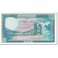 Billet, Lebanon, 100 Livres, 1988, Undated (1988), KM:66d, SPL - Liban